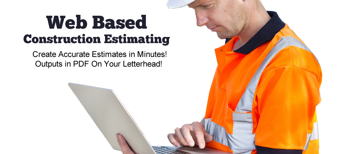 Web based construction estimating software